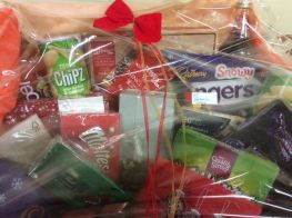 Winners of Christmas Hampers and other prizes