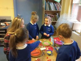 Muffin Pizzas in P2/3