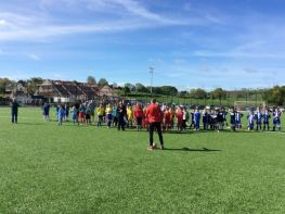 HAMILTONSBAWN FOOTBALL COMPETITION AT KILCLUNEY PARK