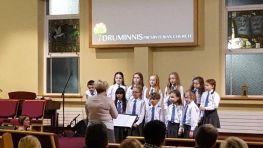 School Choir Feature in Carols by Candlelighr at Druminnis