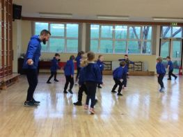 Aaron Nelson - Primary 1 fitness and physical movement