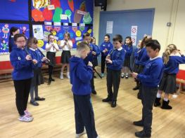 Ulster Scots Visit Primary 4 & 5
