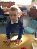 Valentine fun in Primary 1